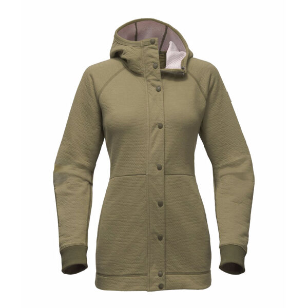 The North Face Women's Re-Source Snap Long Hoodie