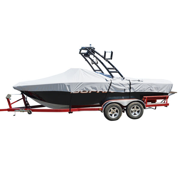 """Tower-All Select-Fit I/O Tournament Ski Boat Cover, 20'5"""" max length, 102"""" beam"""