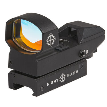 Sightmark Sure Shot Plus Red Dot Sight with 4 Reticle Patterns