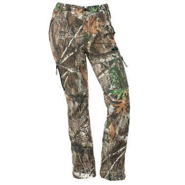 DSG Outerwear Women's Bexley Camo Ripstop Hunting Pant, Realtree Edge