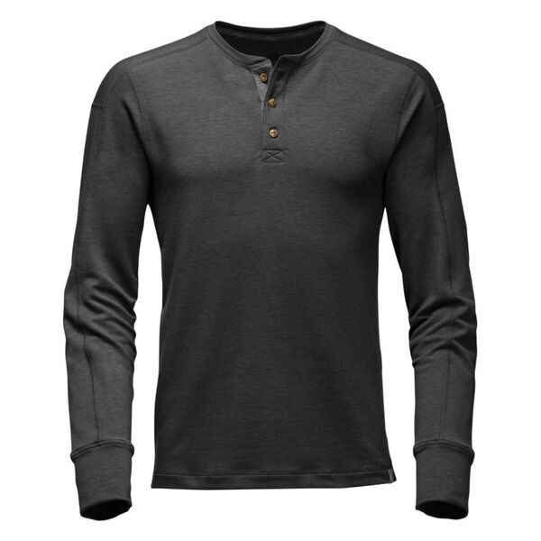 The North Face Men's French Terry Long-Sleeve Henley