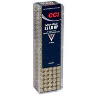 CCI Mini-Mag HP Varmint Ammo, .22 LR, 36-gr., CPHP, 100 rounds