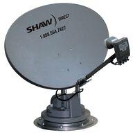 Trav'ler Shaw Direct Satellite TV Antenna Reflector & LNB Kit