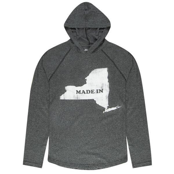 Local Yokel Men's New York Long-Sleeve Hooded Tee