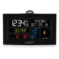 La Crosse WiFi Projection Alarm Clock With AccuWeather
