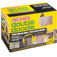 Reliance Double Doodie Waste Bags with Bio-Gel, 6-Pack