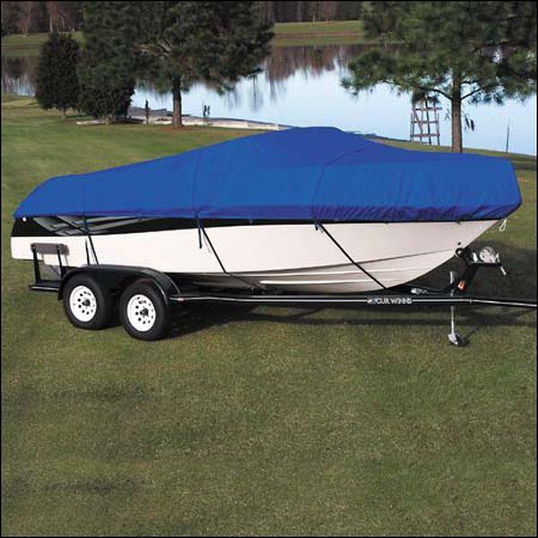 "Sharkskin V-Hull Cuddy Cabin I/O Boat Cover, 26'5"" x 102"""