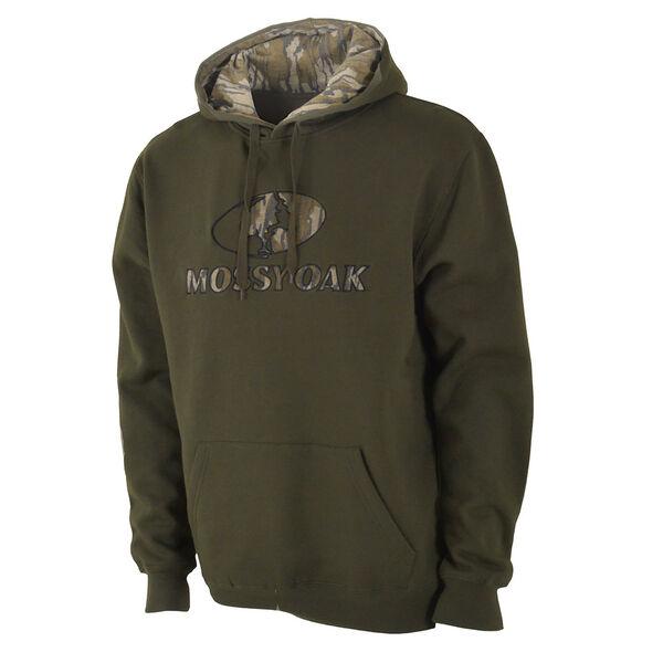 Mossy Oak Men's Camo Logo Pullover Hoodie