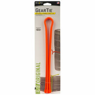 "Nite Ize 24"" Gear Tie Reusable Rubber Twist Ties, Bright Orange, 2-Pack"