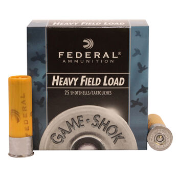 "Federal Game-Shok Heavy Field Loads, 20 Gauge, 2-3/4"", 1 oz., #8"