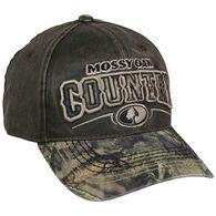 b3e17ddb03f Mossy Oak County Logo Two-Tone Camo Cap