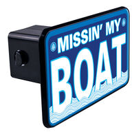 """Trik Topz Missin' My Boat Hitch Cover for 2"""" Receivers"""