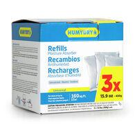 HUMYDRY Premium Moisture Absorber Refills, 3 - 15.9-oz. packs