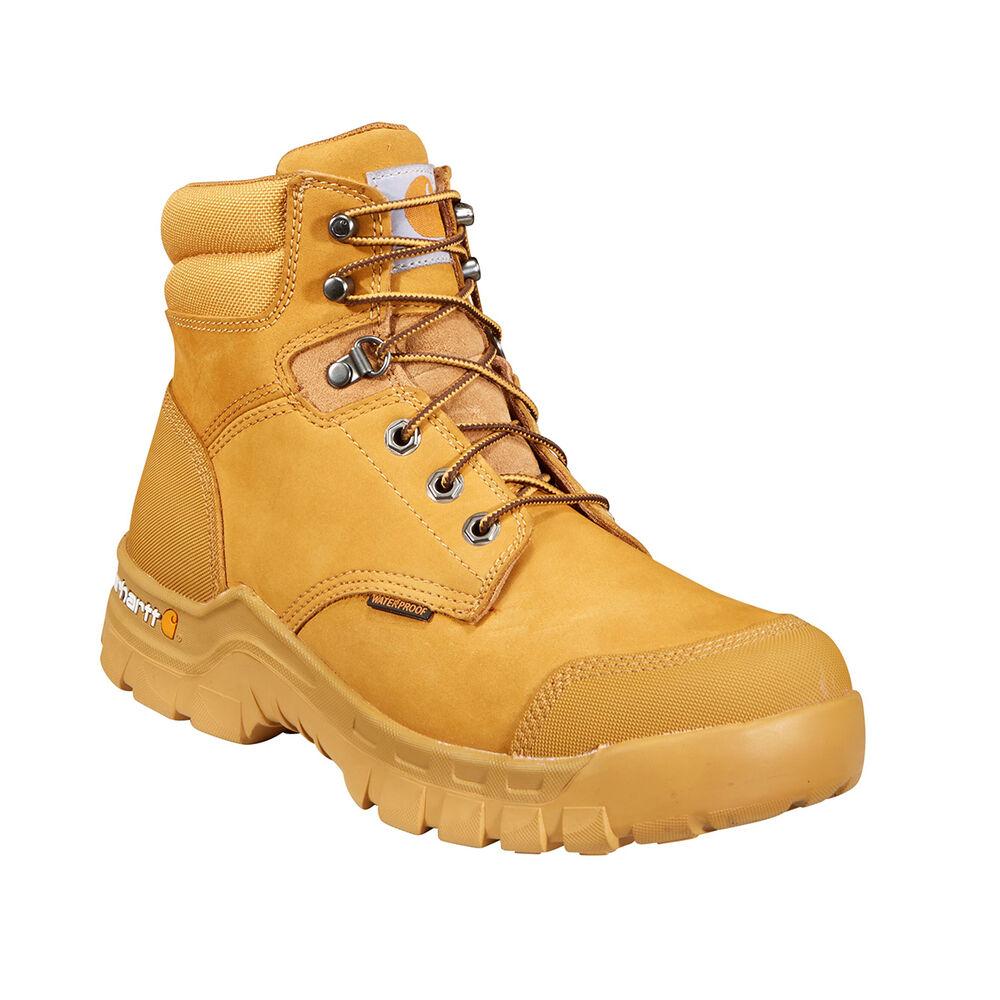 0204453e8c6 Carhartt Men's 6'' Wheat Rugged Flex Waterproof Work Boot