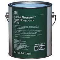 3M Marine Finesse-It Paste Compound, White, Gallon