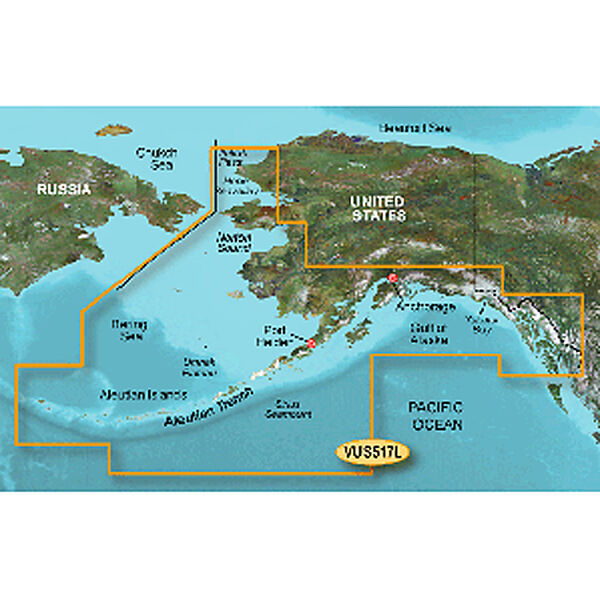 Garmin BlueChart g2 Vision - Alaska South
