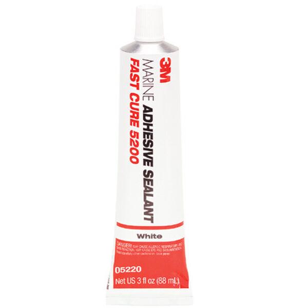 3M Marine Adhesive/Sealant Fast Cure 5200 3-oz. tube