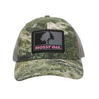 Mossy Oak Women's Patch Logo Trucker Cap