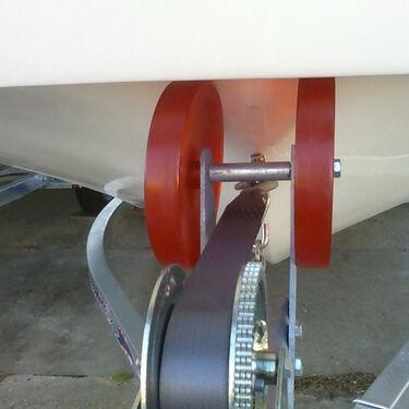 "Stoltz 8"" Bow Roller For Carolina Skiffs"