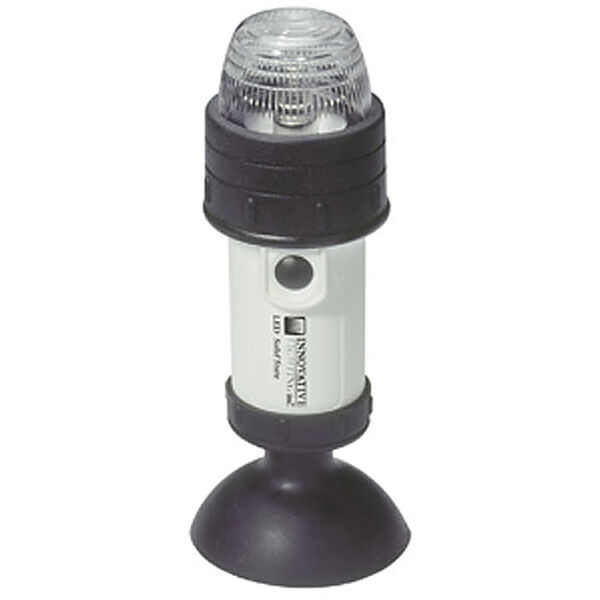 Innovative Lighting Portable Battery Navigation Light with Suction Cup Base, Stern