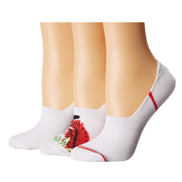 Columbia Women's Tropical Liner Socks, 3-Pack
