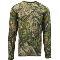 TrueTimber Men's True Long-Sleeve Performance Tee, HTC Green Camo