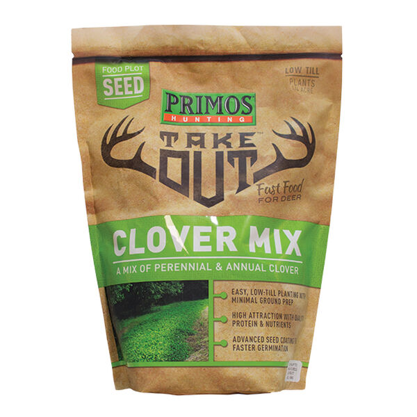 Primos Take Out Clover Mix Food Plot Seed