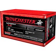 Winchester Varmint LF Rimfire Ammo, .17 HMR, 15.5-gr., NTX Lead Free