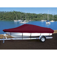 Custom Fit Hot Shot Coated Polyester Boat Cover For BAYLINER 2150 CAPRI BOW RIDER