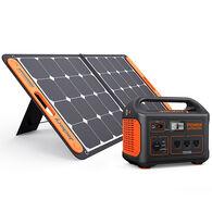 Jackery Explorer 880 Outdoor Portable Power Station and SolarSaga 90-Watt Solar Panel
