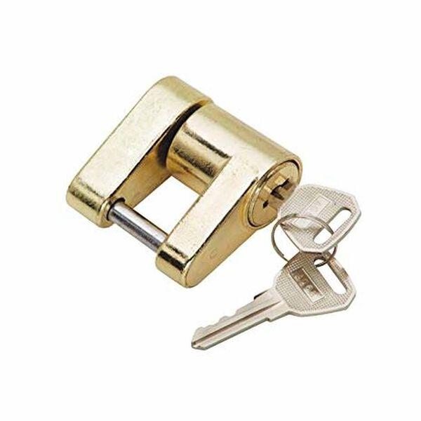 Trailer Coupler Hitch Lock