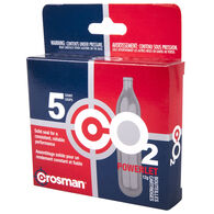 Crosman Powerlet 12-Gram CO2 Cartridges, 5-Pack