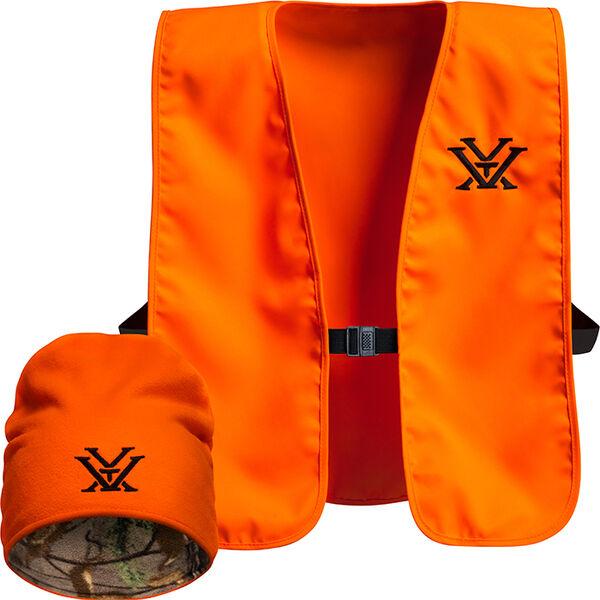 Vortex Vest and Knit Hat Combo