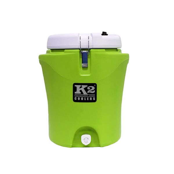 K2 Summit 5 Gallon Water Jug, Lime and White