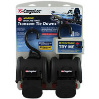 Marine Transom Tie Downs, 2-Pack