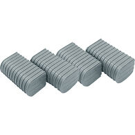 "Caliber 6"" End Caps for Bunk Wrap Kit - Gray, 24-Pack"