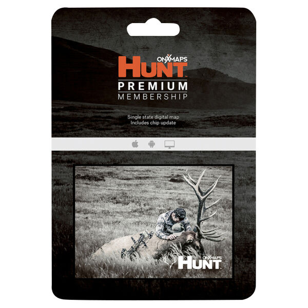 onXmaps Hunt Premium Membership Card