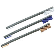 Otis 3-Pack All-Purpose Gun Cleaning Brushes, Nylon/Blue Nylon/Bronze