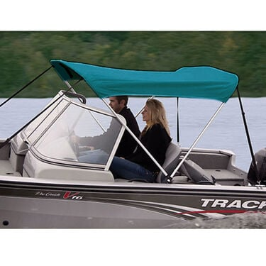 Shademate Polyester Stainless 2-Bow Bimini Top 5'6''L x 42''H 67''-72'' Wide