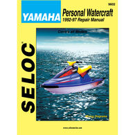 Seloc Marine Engine Maintenance And Repair Manuals Yamaha PWC 1992-1997