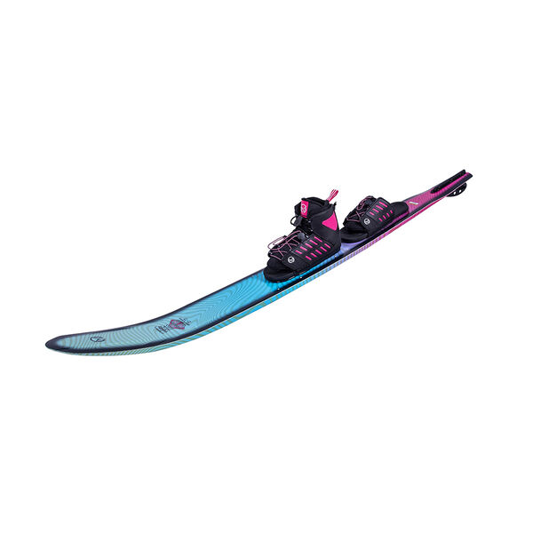 HO Women's Fusion Freeride With FreeMax Binding And Adjustable Rear Toe Plate