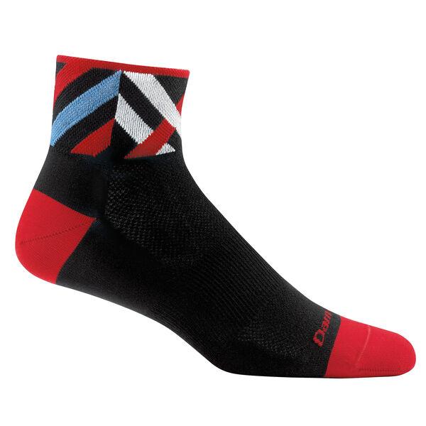 Darn Tough Men's Graphic 1/4 Ultra-Light Sock