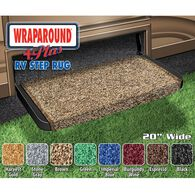 "Wraparound +Plus RV Step Rug, 20"" Brown"