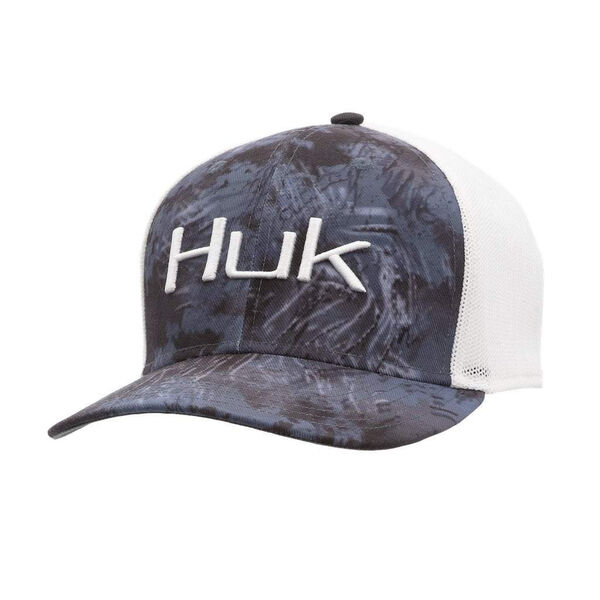 HUK Men's Camo Stretch Trucker Cap