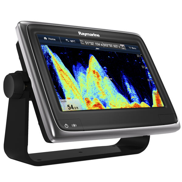 """Raymarine a97 9"""" Chartplotter/Fishfinder With US LNC Vector Charts"""