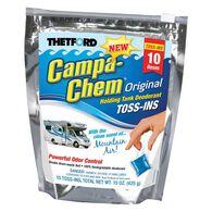 Campa-Chem Original Holding Tank Deodorant, Toss-ins, 10 pack