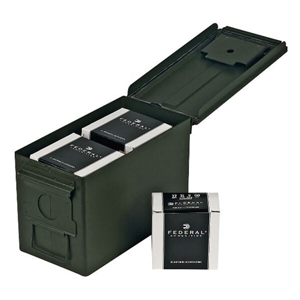 Federal 12 Gauge 00 Buckshot Ammo Can