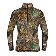ScentLok Women's BaseSlayers AMP Midweight Quarter-Zip Top