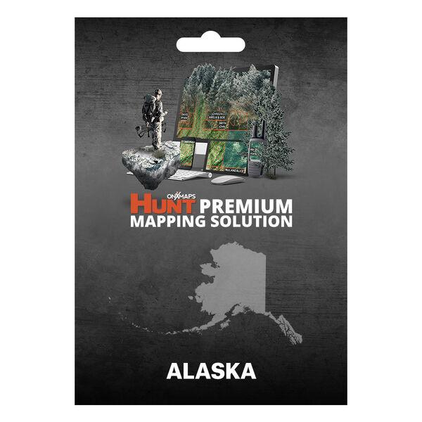 onXmaps HUNT GPS Chip for Garmin Units + 1-Year Premium Membership, Alaska