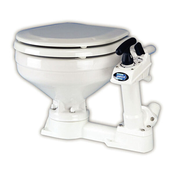 Compact Manual Marine Toilet